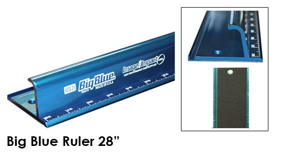 Big Blue Ruler Safety 28